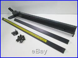 Sears Craftsman 10 Table Saw Rip Fence & Guide Rails, for 27 deep tables