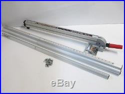 Incredible Sears Craftsman 10 Table Saw Upgraded Aluminum Align A Rip Interior Design Ideas Ghosoteloinfo