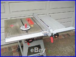 Terrific Sears Craftsman 10 Table Saw Upgraded Aluminum Align A Rip Interior Design Ideas Ghosoteloinfo