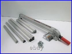 Sears Craftsman 10 Table Saw Upgraded Aluminum Align-A-Rip 24/12 Fence System