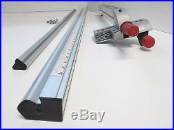 Sears Craftsman 10 Table Saw Upgraded Aluminum Align-A-Rip 24/24 Fence System