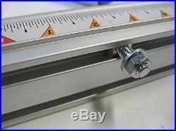 Sears Craftsman 10 Tischsäge Aktualisiert Aluminum Align-A-Rip 24/12 Fence