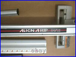 Sears Craftsman Align A Rip 24/12 Fence and Rails Assembly From Model 315.228390