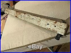 Sears Craftsman Heavy Duty 25 Table Saw Fence Glide