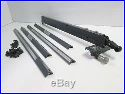 Sears Craftsman Micro-Adjust Style Rip Fence & Long Guide Rails 10 Table Saws