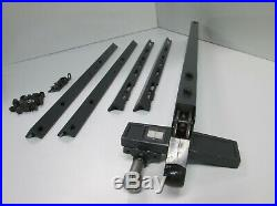 Sears Craftsman Micro-Adjust Style Rip Fence & Long Guide Rails, 10 Table Saws