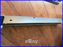 Sears Craftsman Table saw Fence and Railssuper nice113 series NICE