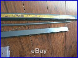 Sears Craftsman Twist Lock Fence and Railsused nut nice113 series