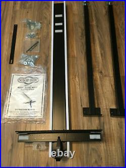 Shop Fox Classic Support Table Saw Rip Fence Guide NO RAILS