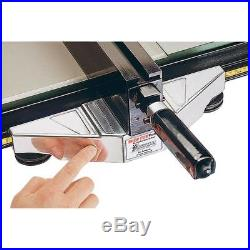 Shop Fox W1410 Tablesaw T Square Roller fence with Rails 25 right cut