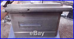 Shopsmith 10E/10ER Table Saw WithRip Fence and FREE SHIPPING