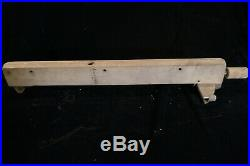 Shopsmith Lot 7 Wide Ext Table, Saw Blade/Arbor, 12 Sanding Disc, Rip Fence