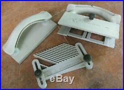 Shopsmith Mark V 3-pc. Safety kit push block, featherboard, fence straddle