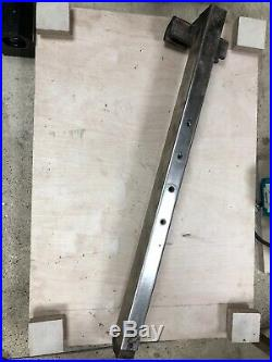 Startrite ta 275 175 table saw fence incomplete