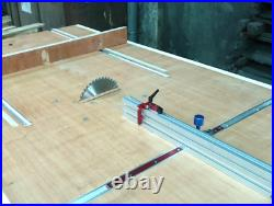 T Slot Miter Track Jig Woodworking T-Track Aluminium Table Saw Fence Workbench