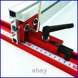 Table Miter Track Saw Woodworking DIY Tools T-Track Sliding Fence Connector
