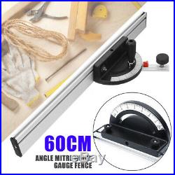 Table Saw BandSaw Router Angle Ruler Mitre Guide Fence Cut For Woodworking Parts