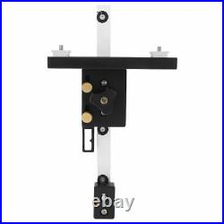Table Saw Fence Main And Auxiliary Bracket Fixing Block Aluminum Fence For
