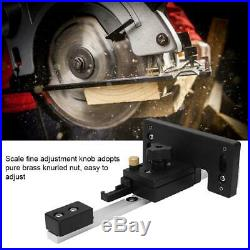 Table Saw Fence Main / Auxiliary Bracket Woodworking Circular Saw DIY Tool New