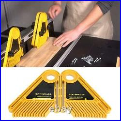 Table Saw Fence Miter Gauge Slot Durable Plastic Feather Boards Professional DIY