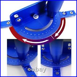 Table Saw Miter Gauge for Router Table with T Slot Track Bar Fence wookworking