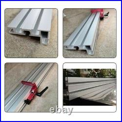 Table Saw Miter Track 600mm 75 Type Accessory Aluminium Alloy Fence Stop