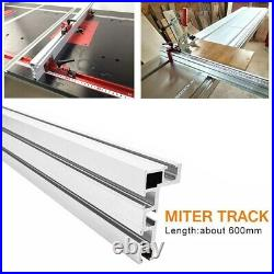 Table Saw Miter Track Woodworking Tool 600mm 75 Type Fence Stop Hot Sale