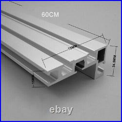 Table Saw Miter Track Woodworking Tool 600mm Accessory Fence Stop Durable