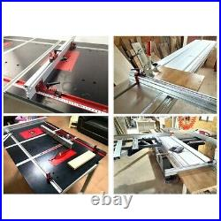 Table Saw Miter Track Woodworking Tool 600mm Accessory Fence Stop Hot Sale