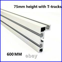 Table Saw Miter Track Woodworking Tool 75 Type Aluminium Alloy Fence Stop