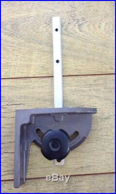 Table Saw Miter fence little used pls. See detailed photo's for measurements