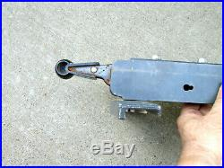 Table Saw Parts Craftsman 10 Cam Lock Table Saw Fence Unknown Model