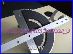 Table Saw Precision Miter Gauge System + Fence + Copper Handle