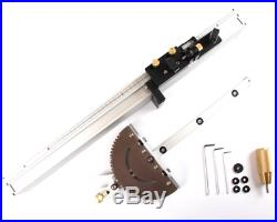 Table Saw Precision Miter Gauge System With 600mm Fence