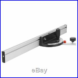 Table Saw Ruler BandSaw Gauge Mitre Guide Fence Cut For Woodworking Machinery