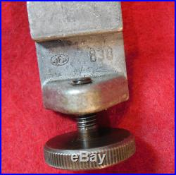Unimat Mini Lathe Parts-table Saw Fence With 2 Saw Blade