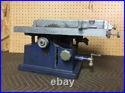 VINTAGE DUNLAP TOOL BELT DRIVE DRIVEN TABLE SAW MODEL 103-0209 With Fence & Mitre