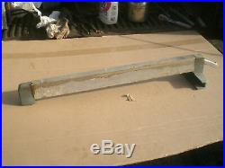Vintage 1950's Craftsman 8 Table saw rip fence