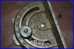 Vintage Cast Alloy Multico Mitre Fence Guide