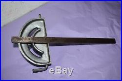 Vintage Cast Alloy STD Mitre Fence Guide 5/8 x 1/4 inch