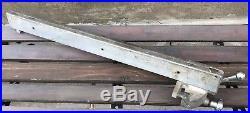 Vintage Craftsman 113.29730 8 Table Saw Micro Adjust Fence! Great Shape