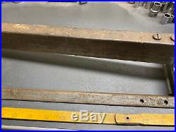 Vintage Craftsman 7 Table Saw Fence And Rail! 1950s! Awesome