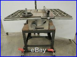 Vintage Craftsman Table Saw 10 Toothed Fence Rail # 1
