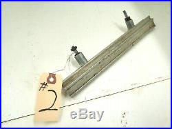 Vintage Craftsman Table Saw 10 Toothed Fence Rail # 2