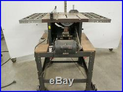 Vintage Craftsman Table Saw 20 Toothed Fence Rail