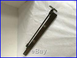 Vintage Craftsman Table Saw Rip Fence Guide Bar 101.02143