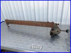 Vintage Delta Milwaukee Table Saw TCS 203 Fence 27 DMS-04
