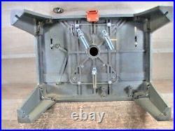 Vintage Hirsh Router & Sabre Saw Table Adjustable Fence Guard 18x 13X 11