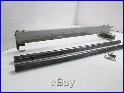 Vintage Rockwell Delta Table Saw Rip Fence Assembly for 10 Motorized Saws