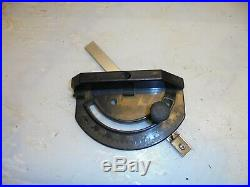 Vintage Sliding Mitre Fence For Band/table Saw, Router Table